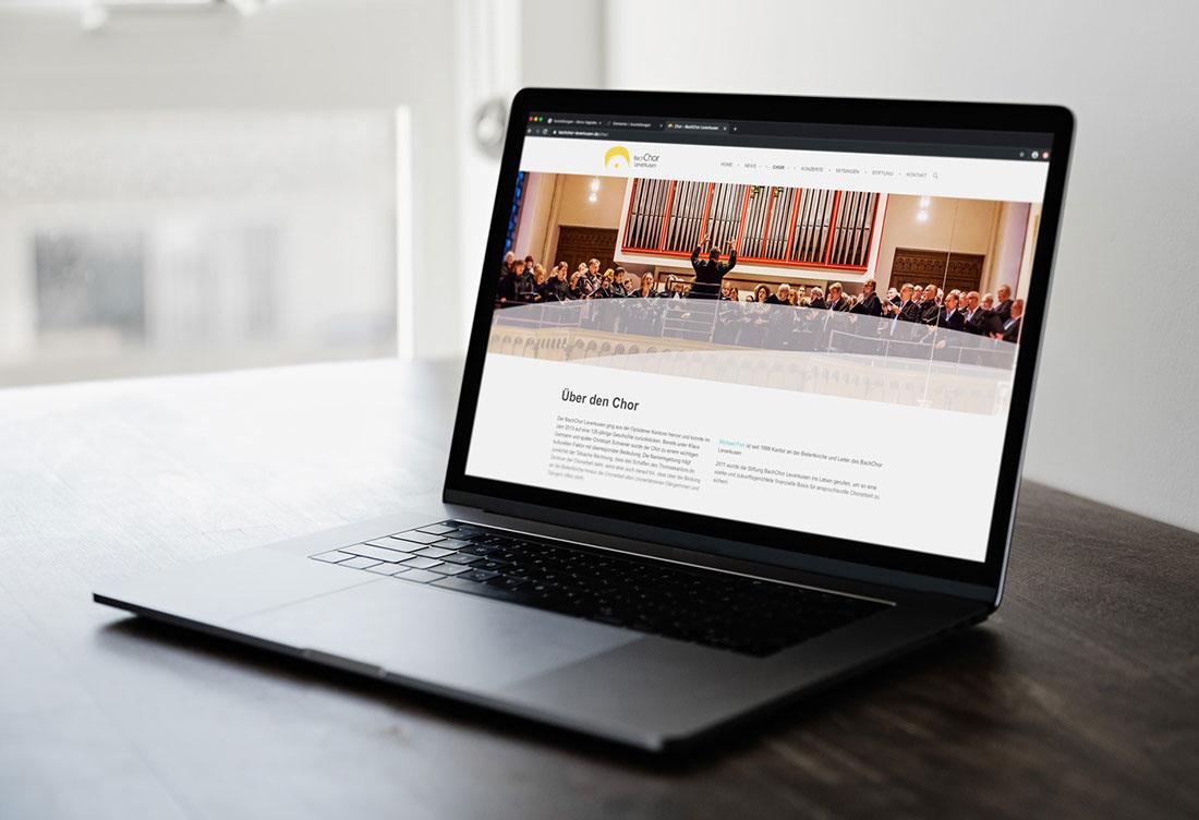 Bachchor Website