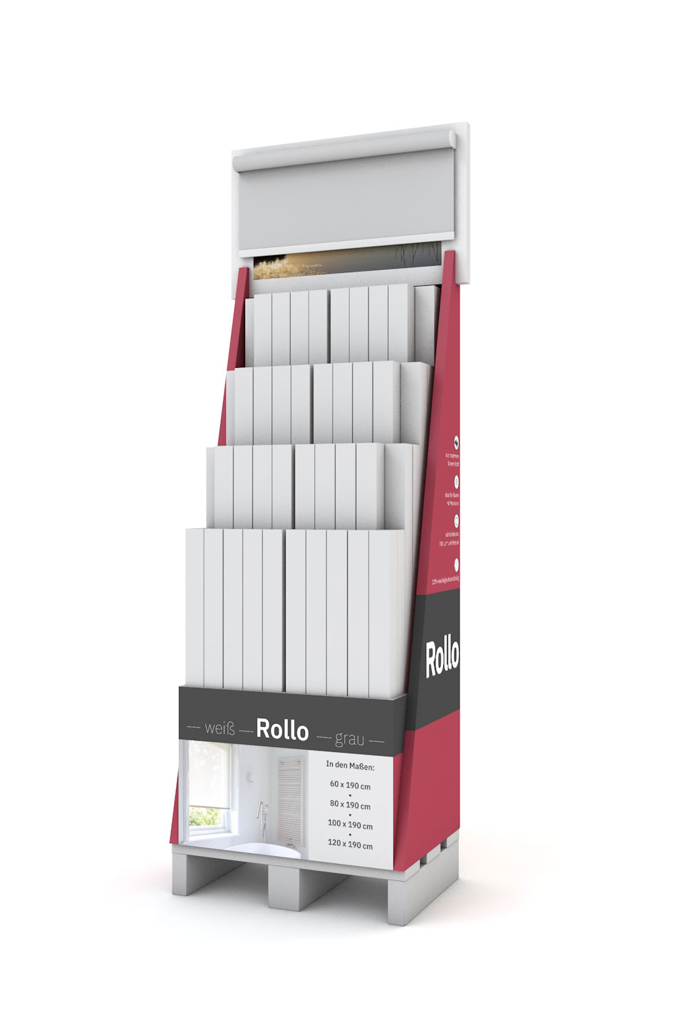 Coulisse Display - Rollo