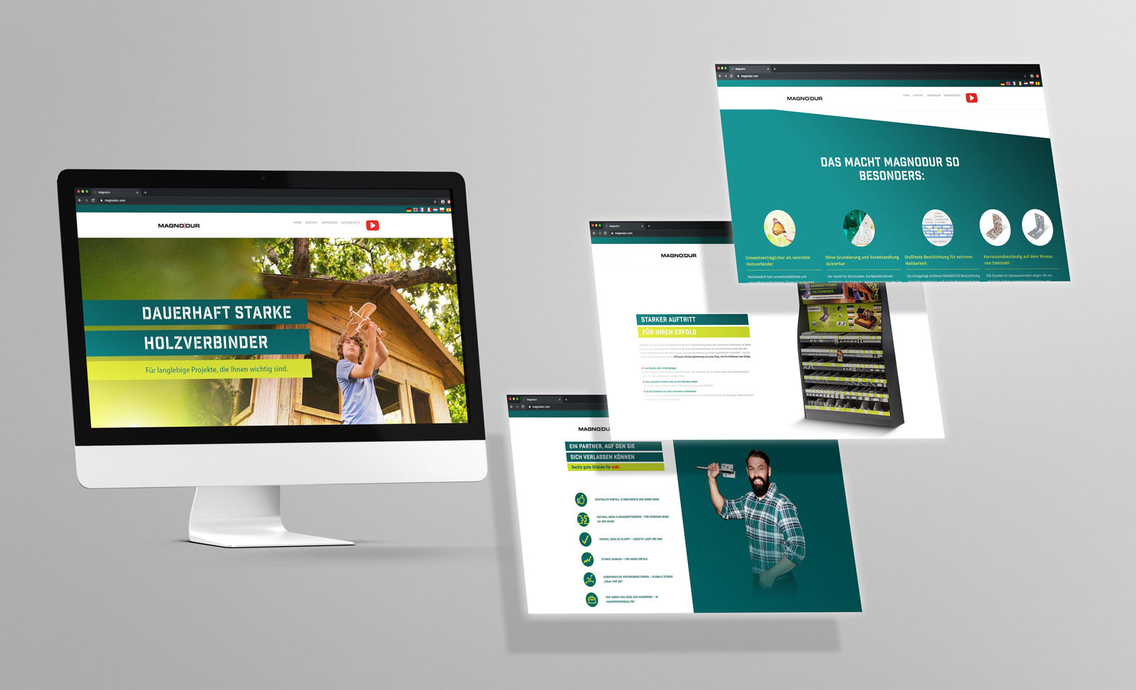 Magnodur Website