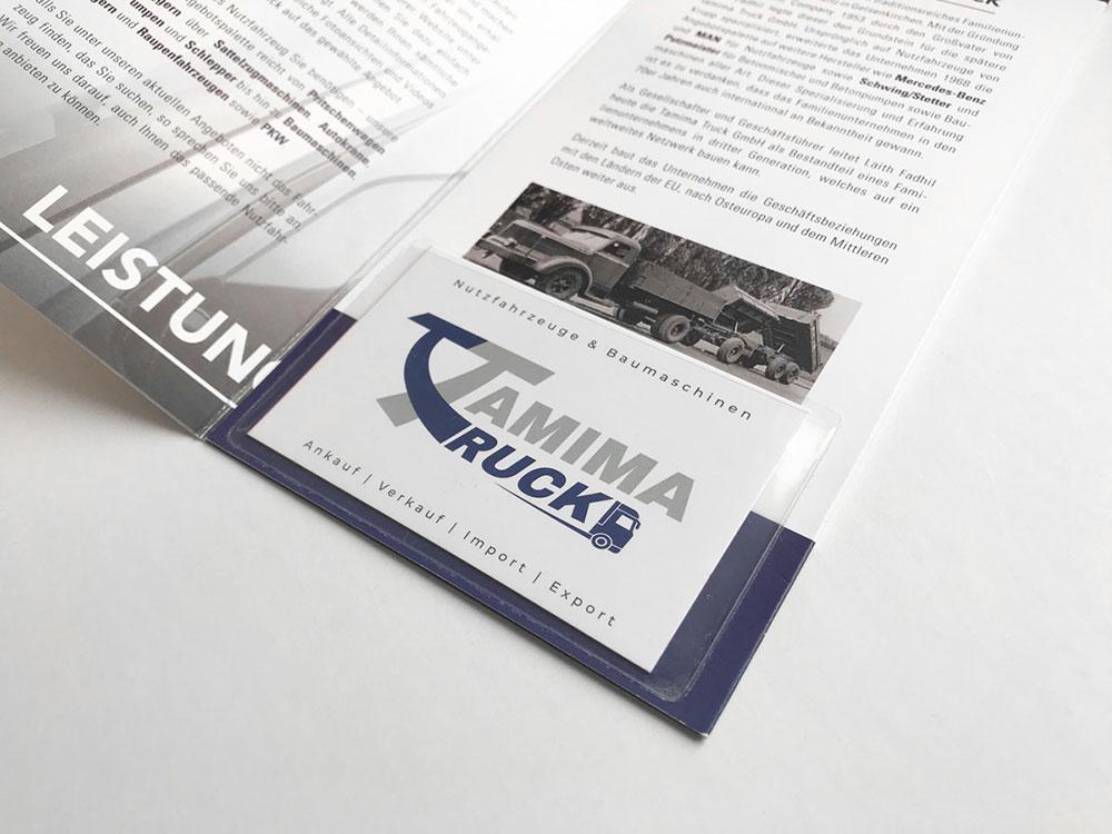 Tamima Truck Broschüre