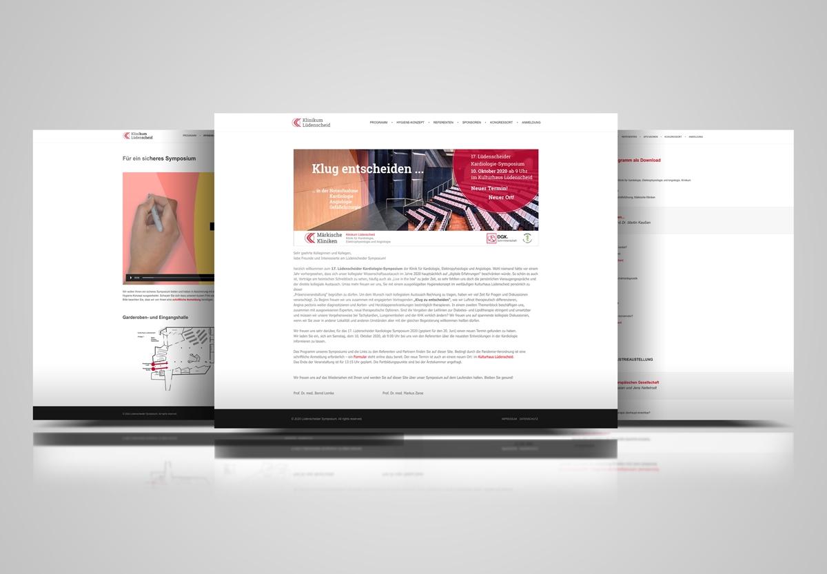 Lüdenscheider Symposium - Website